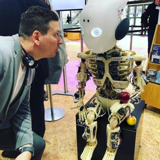 Robot and me